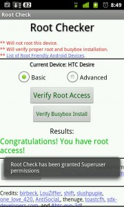 Averigua si eres root en Android.