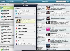 HootSuite mejor app para Twitter en Ipad