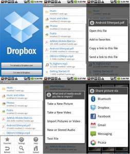 Dropbox es otra aplicacion imprescindible para Android