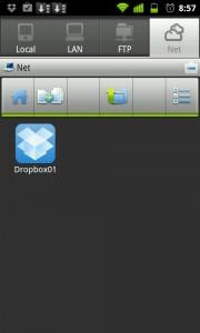 Integración de la app con servicios en la nube, como DropBox