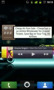 SongBird - widget de escritorio. Utilidad mp3 Android