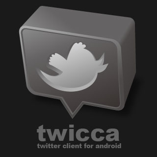 Twicca, app de twitter para Android