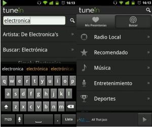 Escuchar la radio en Android