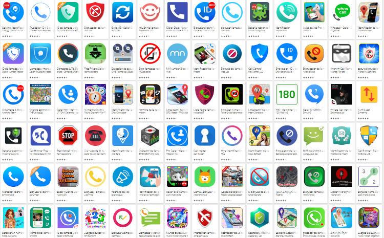 Apps en Play Store para ocultar numero